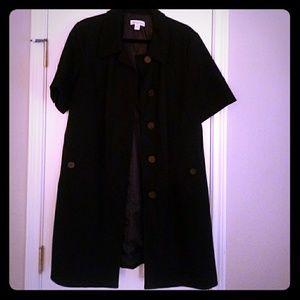 Dress length jacket